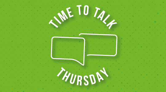 Time to Talk - Thursday